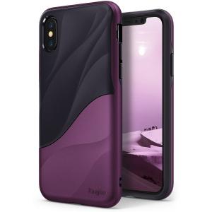 Etui Ringke Wave iPhone X Metallic Purple