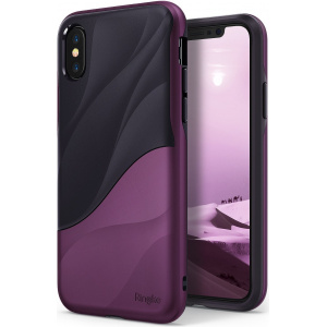 Ringke Wave iPhone X Metallic Purple
