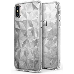 Etui Ringke Air Prism Glitter iPhone X Clear