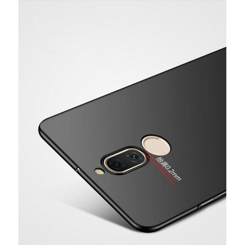 Etui MSVII Huawei Mate 10 Lite Black + Szkło