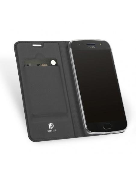 Etui DuxDucis SkinPro Moto G5S Gray + Szkło