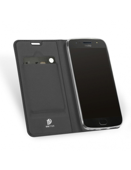 Etui DuxDucis SkinPro Moto G5S Plus Gray + Szkło