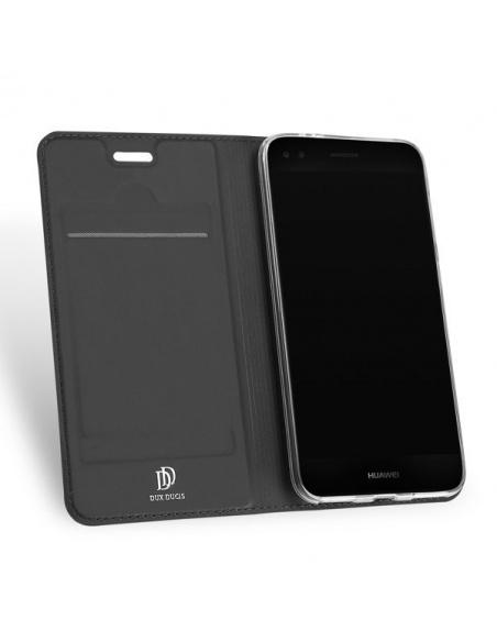 Etui DuxDucis SkinPro Huawei P9 Lite Mini Gray + Szkło