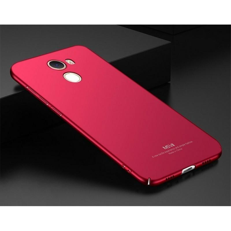 MSVII Xiaomi Mi Mix 2 Red + Screen Protector