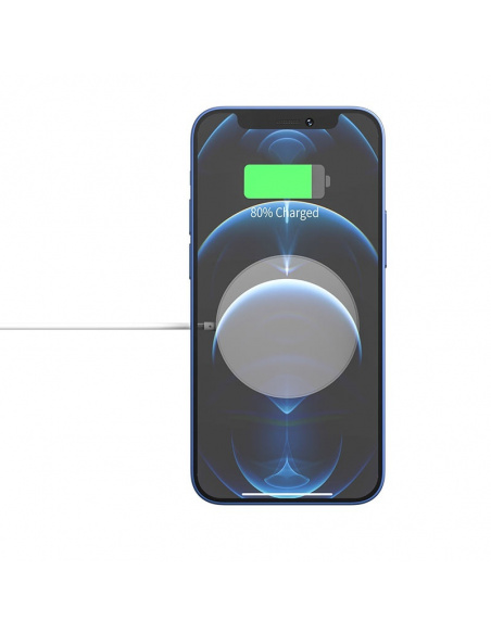 hoco CW28 Wireless Charger with MagSafe 15W White