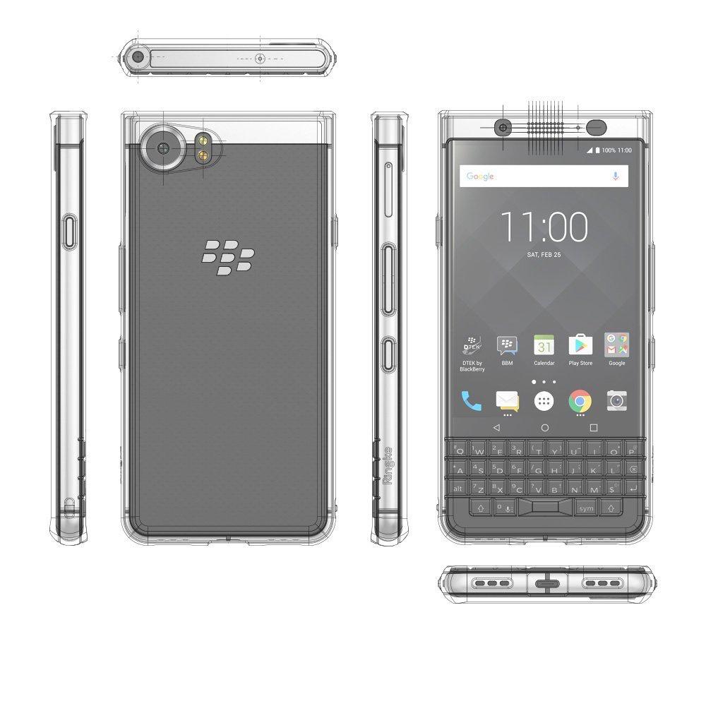 blackberry keyone obudowa