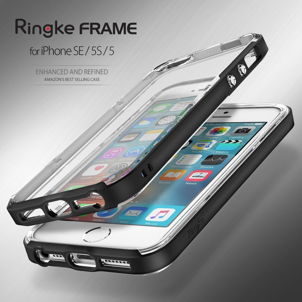 ringke fusion frame iphone se sf black