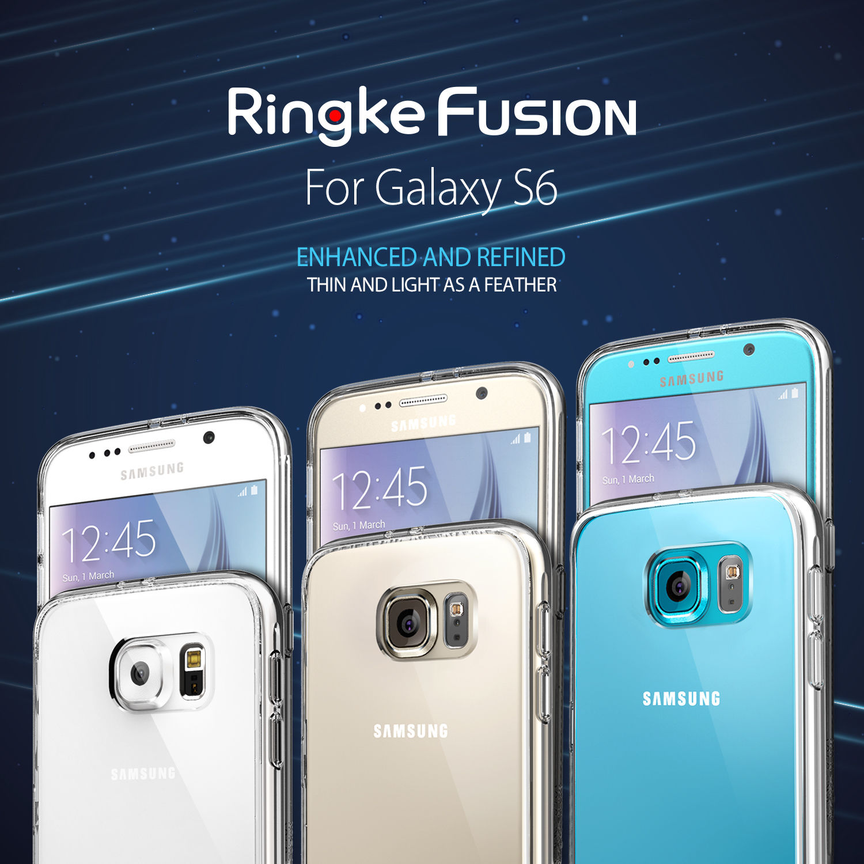 ringke fusion galaxy s6 homescreen
