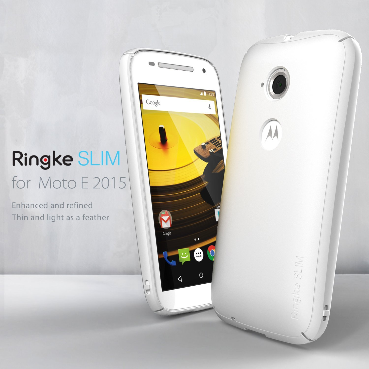ringke slim moto e homescreen
