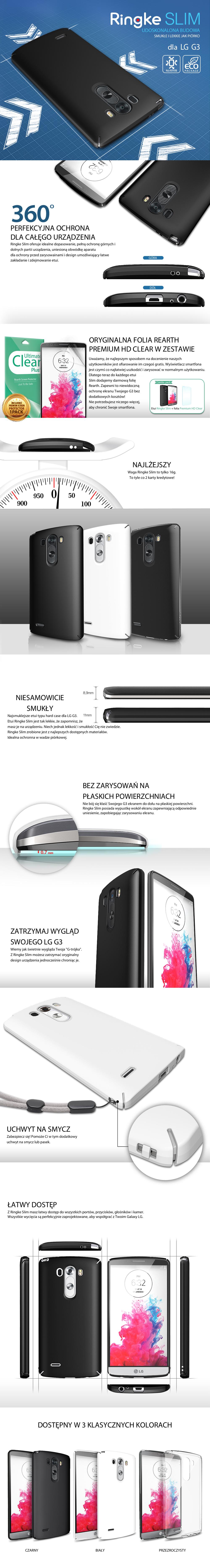 Rearth Ringke Slim LG G3 sklep