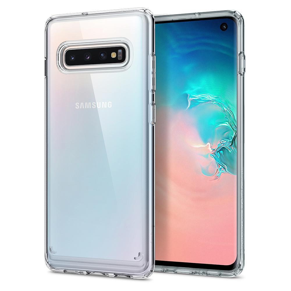Etui dla Samsunga Galaxy S10 Spigen Ultra Hybrid Clear